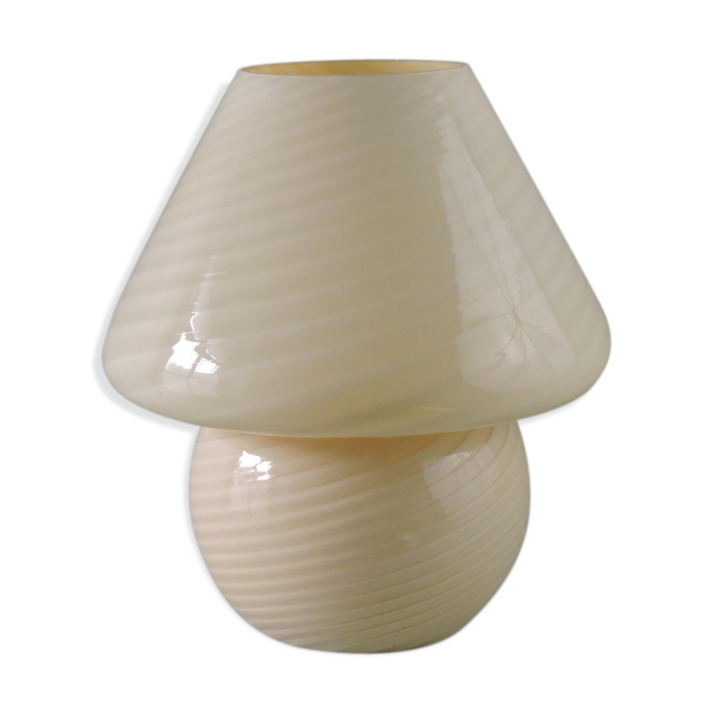Lampe Vintage Champignon Murano Gino Vistosi Des Annees 70 Glass