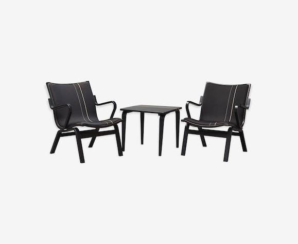 paire de fauteuils table scandinave - Fauteuil De Table Scandinave