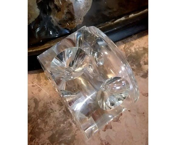 sevres crystal ashtray.