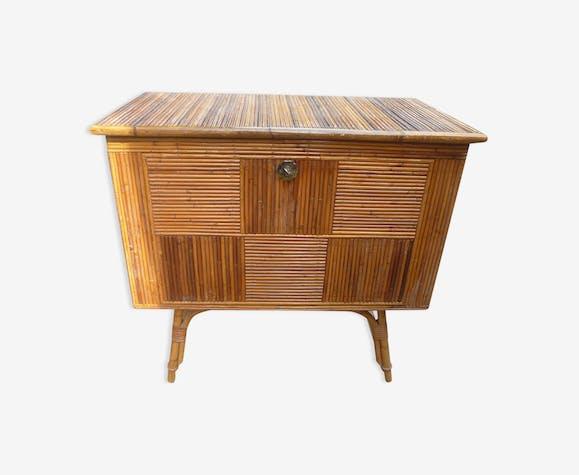meuble bar en rotin rotin et osier bois couleur. Black Bedroom Furniture Sets. Home Design Ideas
