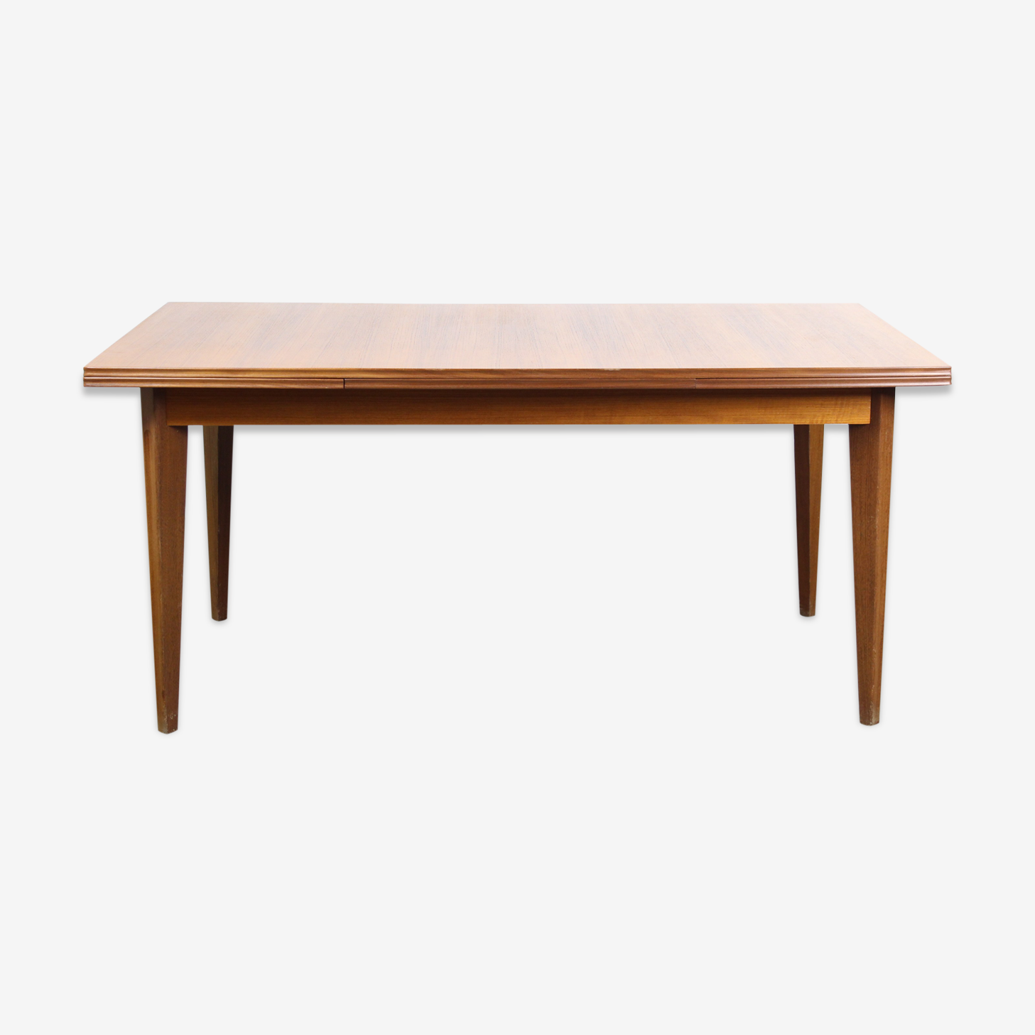 Table de repas scandinave rectangulaire en teck