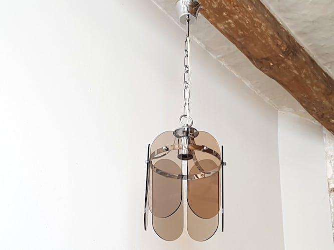 Vintage hanging lamp, 1970