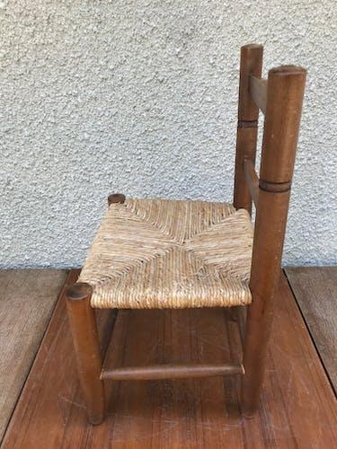 Old wooden children's chair