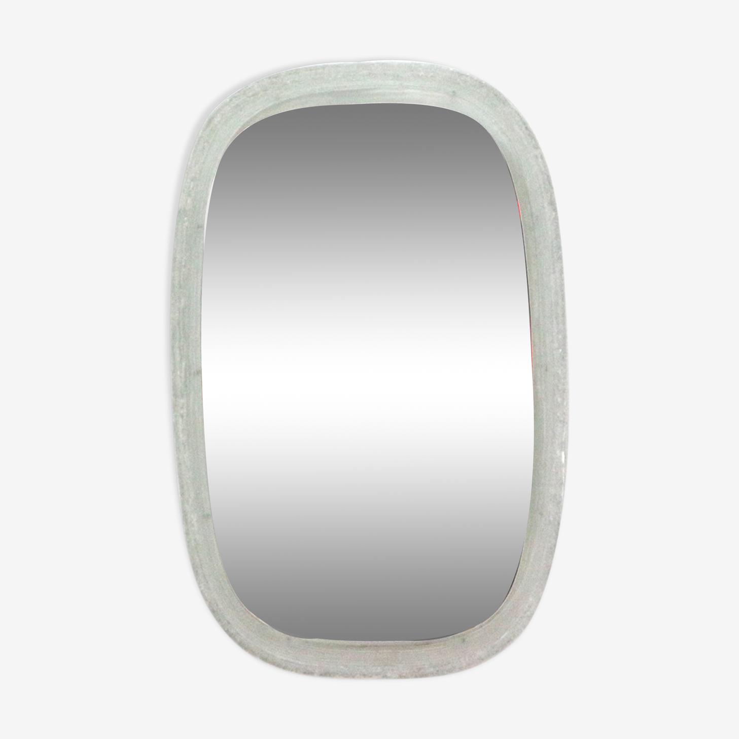 Miroir rétro éclairé 70 - 42x65cm
