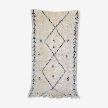 Beni ourain carpet 104x205cm