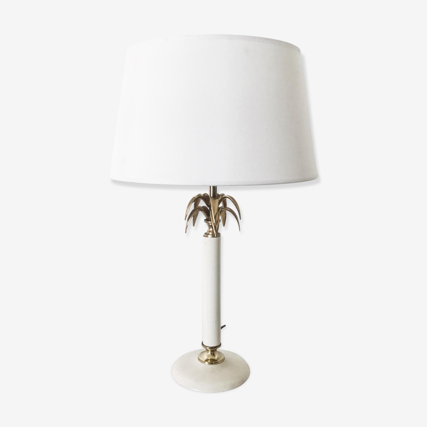 Shabby chic lamp 1970 s