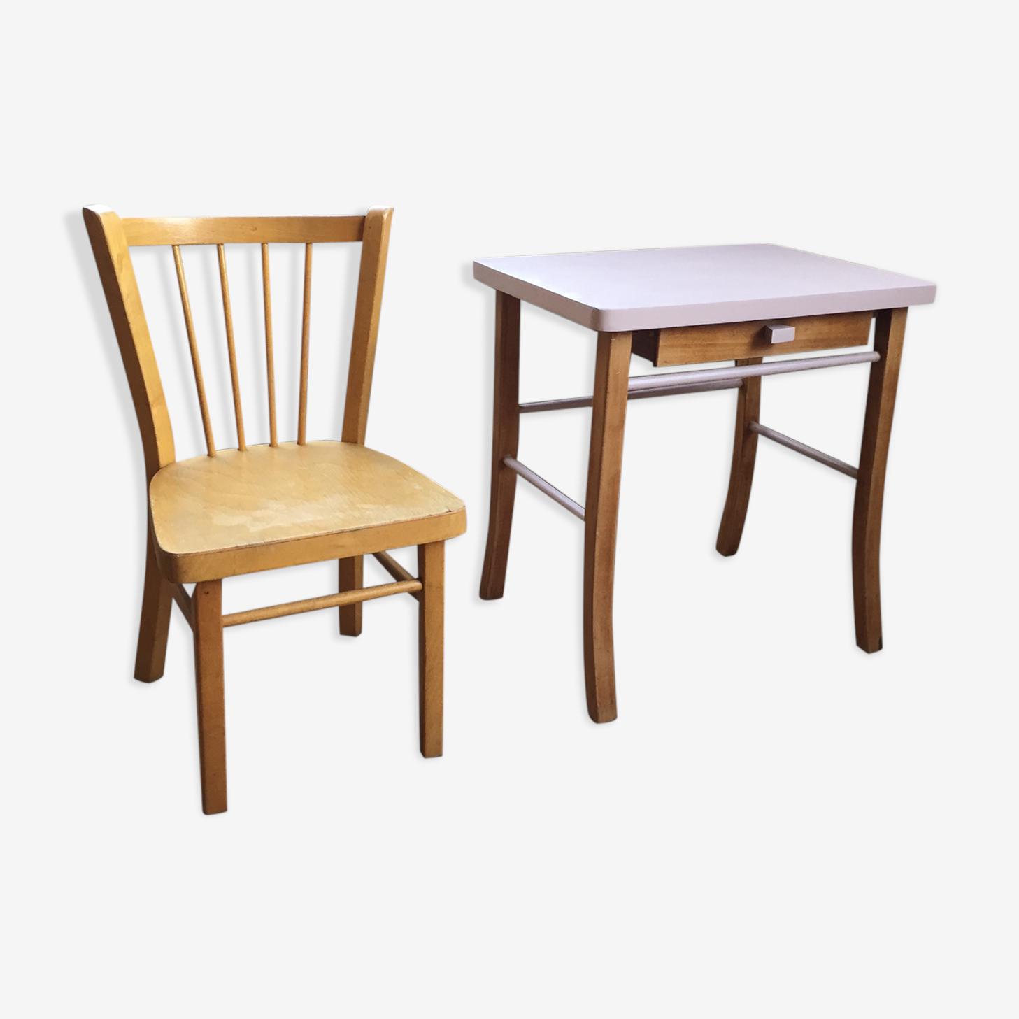 Bureau Baumann + chaise