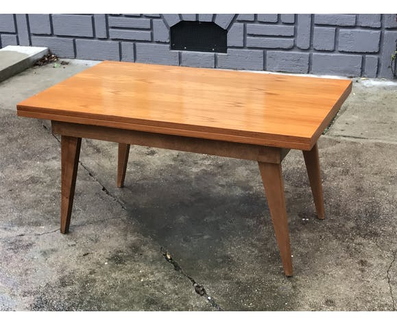 Table Basse Portefeuille Et Table Haute De Repas 1950 1960 Vintage