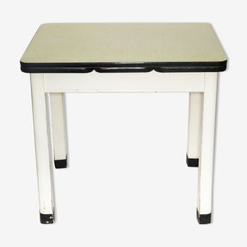 Table de salle manger vintage d 39 occasion for Table cuisine annee 60