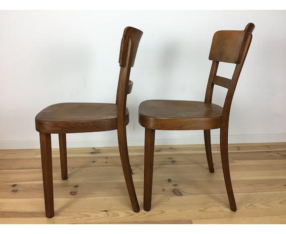 2 chaises bistrots Horgen Glarus