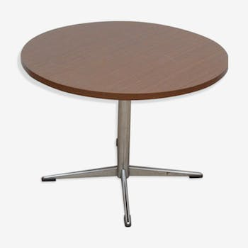 Table ronde brune