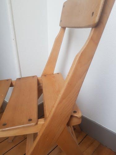 Chaise vintage enfant