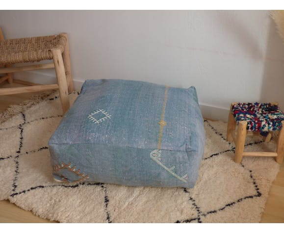 Hand-woven vegetable silk sabra bean bag