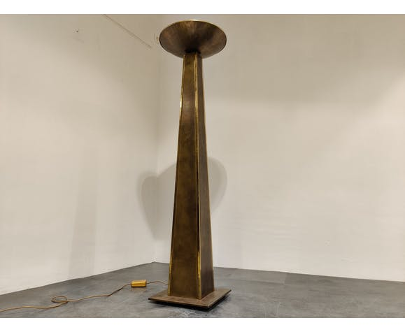 Large Torchiere Floor Lamp from
