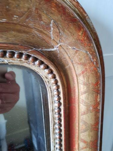 Louis Philippe mirror 87x115cm