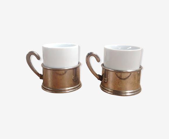 Pair of espresso cups