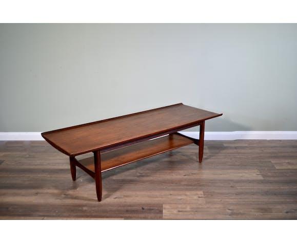 Midcentury coffee table by Finn Juhl for France & Søn from Denmark