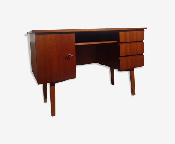 Bureau vintage des années 60 teck