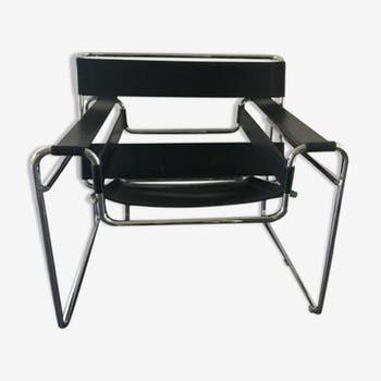 Chair B3 Wassily by Marcel Breuer for Gavinas 1960 s