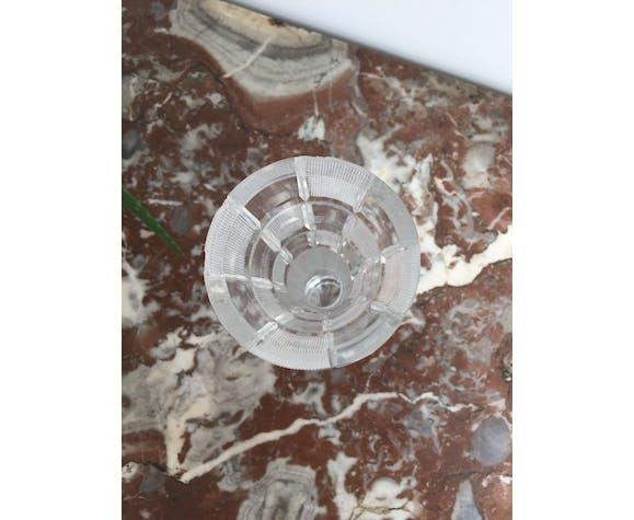 Vase soliflore verre mosaïque de carrés