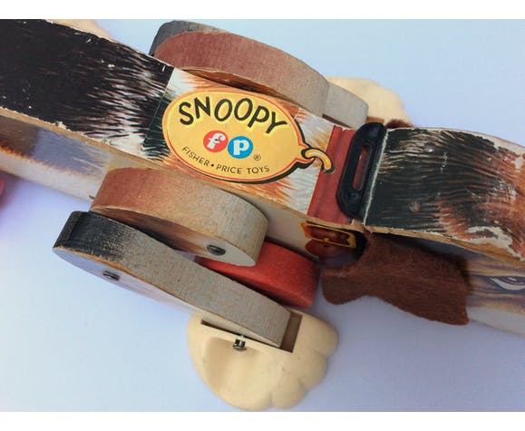 Snoopy fisher price vintage 60s