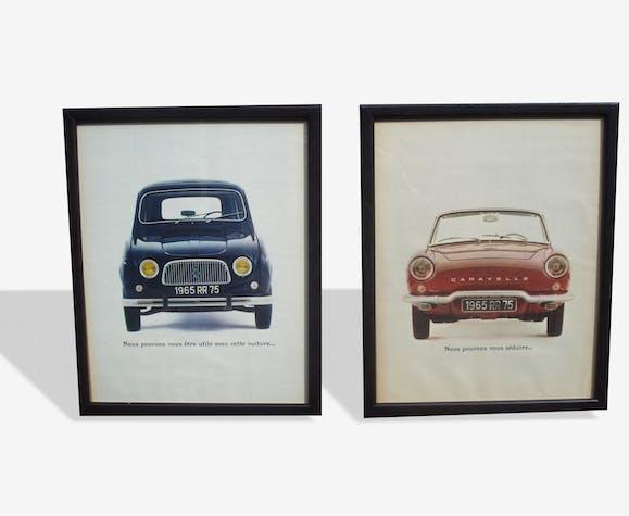 Anciennes publicités Renault