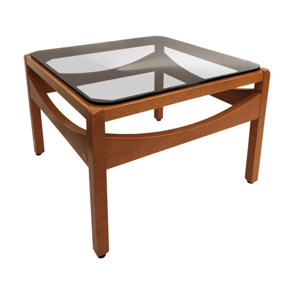 Argos Coffee Table Baumann Wood Brown Good Condition Vintage Gqbzkz7