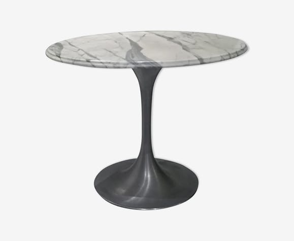 Table marble foot Tulip 1960