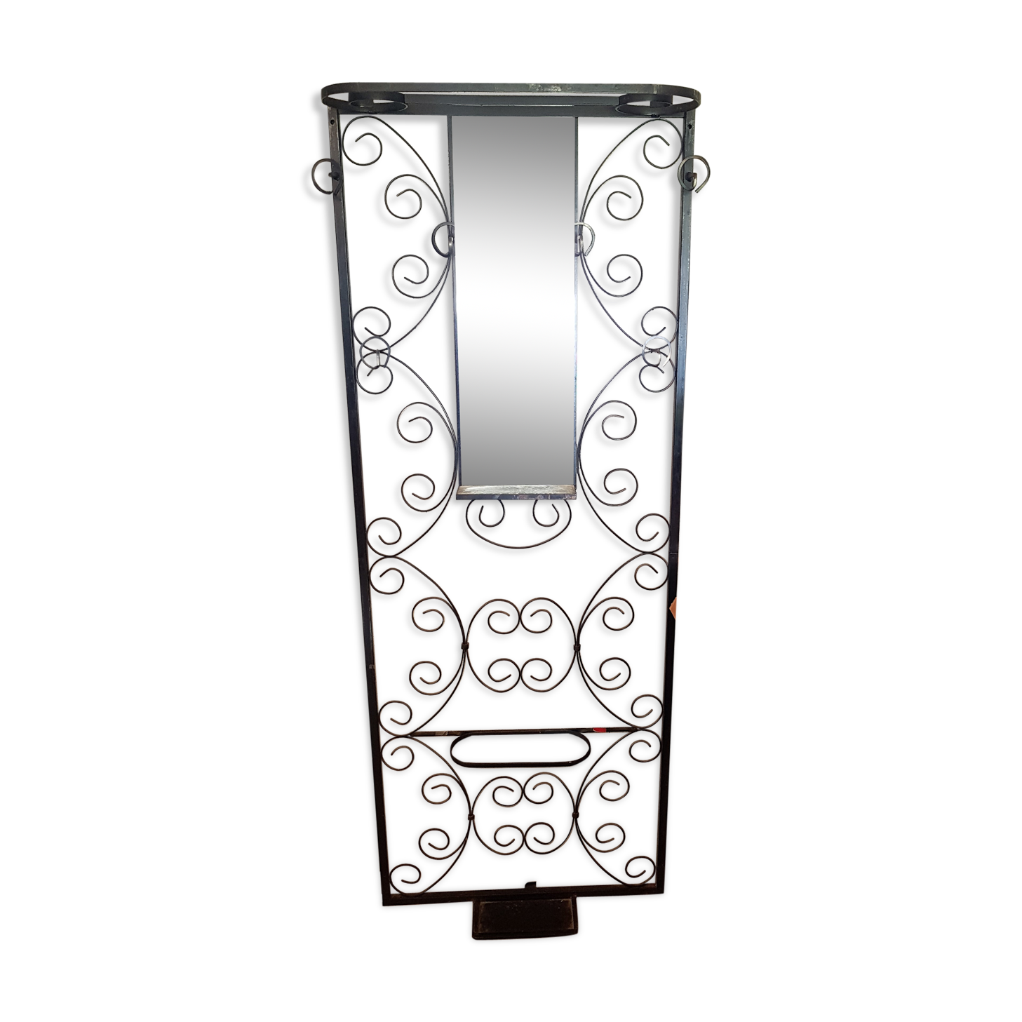 Vestiaire fer beautiful vestiaire fer forge conforama with vestiaire fer awesome with - Porte manteau mural industriel ...