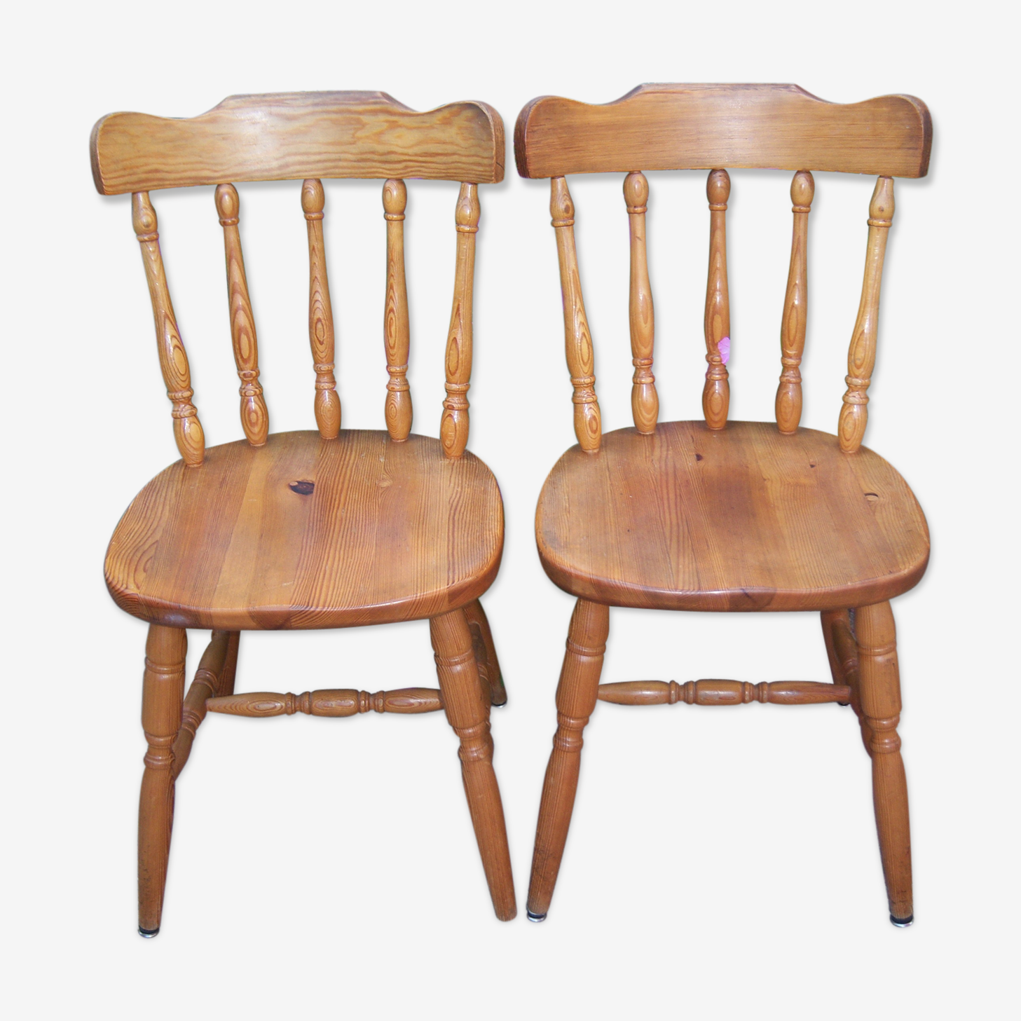 2 chaises western