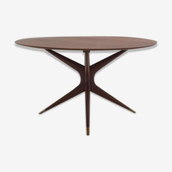 Table en noyer par parisi