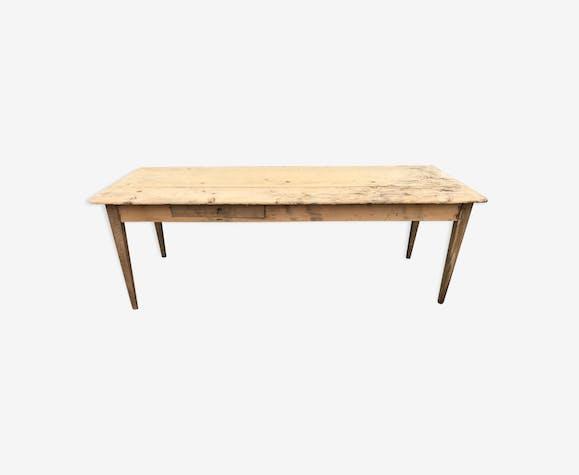 Old pine farm table