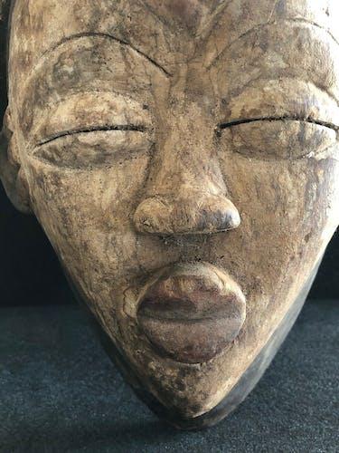 Masque de danse Punu Njiabi Gabon