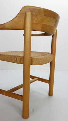 Lot de 4 chaises Rainer Daumiller pour Hirtshals Sawmill, Danemark 1970