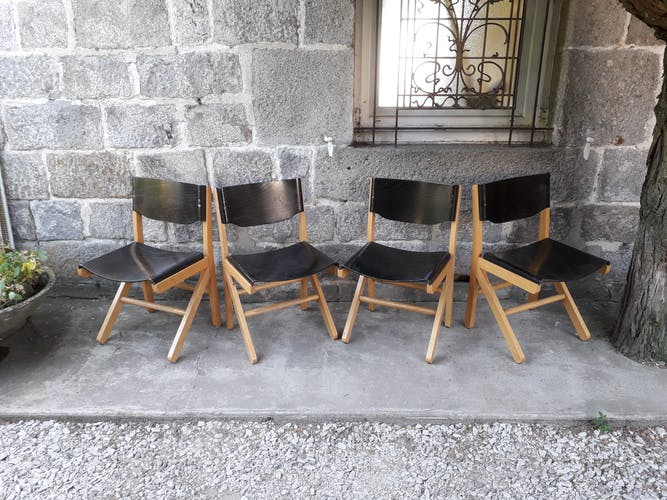 Lot de 4 chaises Baumann
