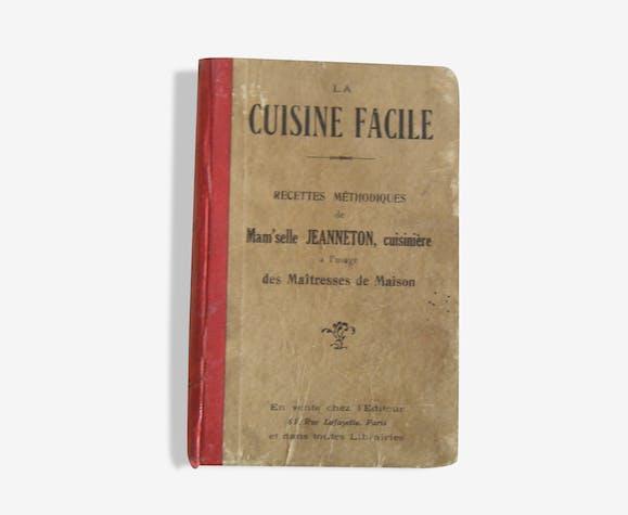Livre De Cuisine Ancien Debut Xxeme Paper Red Vintage