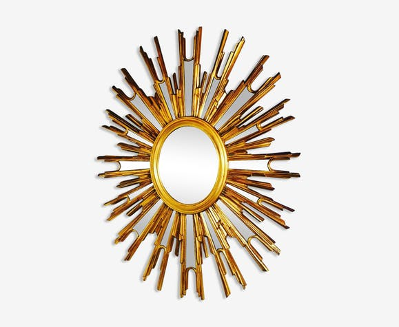 Miroir soleil vintage 67x85cm