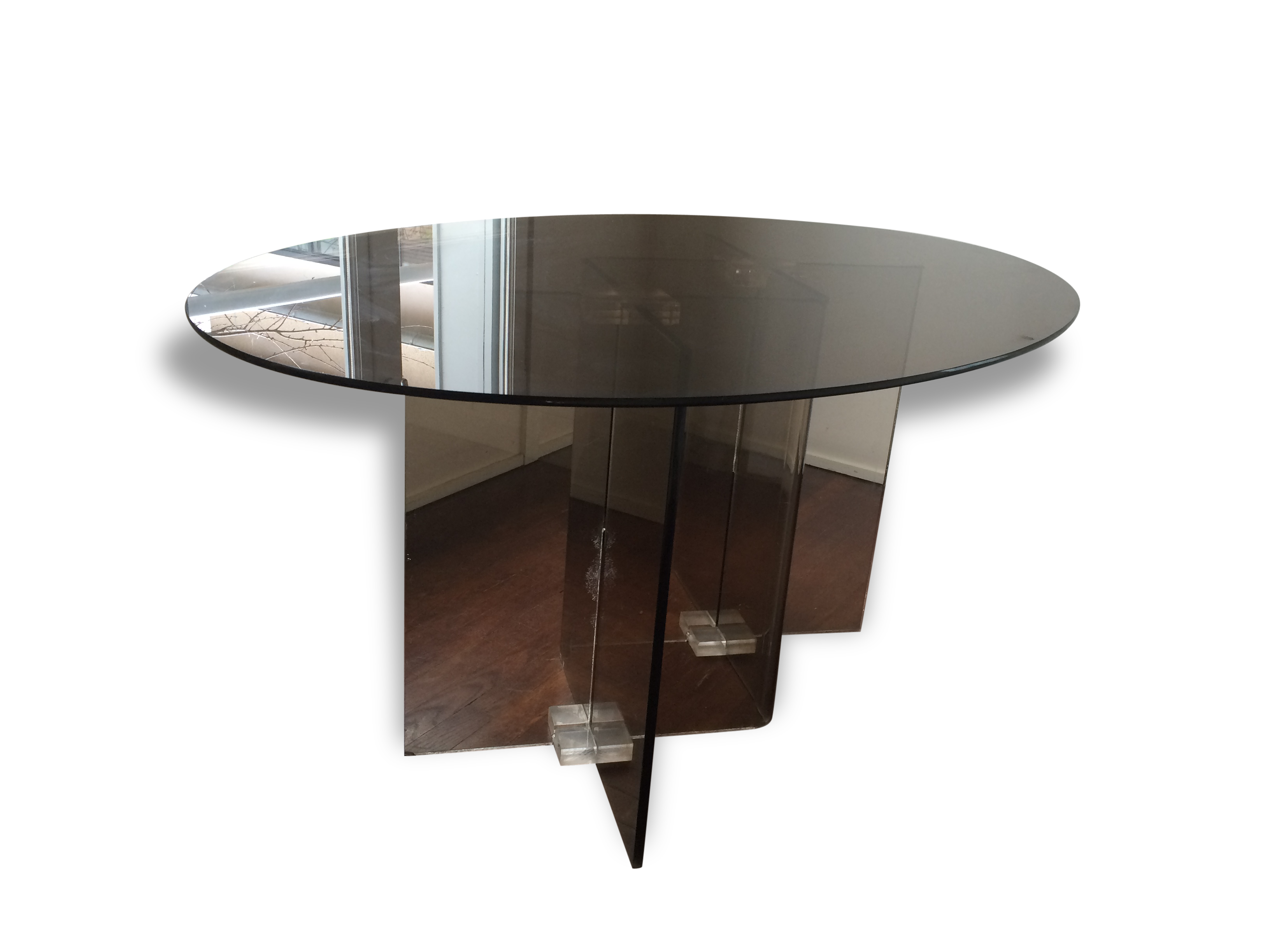 table-roche-bobois-1970-1980-vintage-en-plexi-et-verre_original Unique De Table Basse Plexiglas