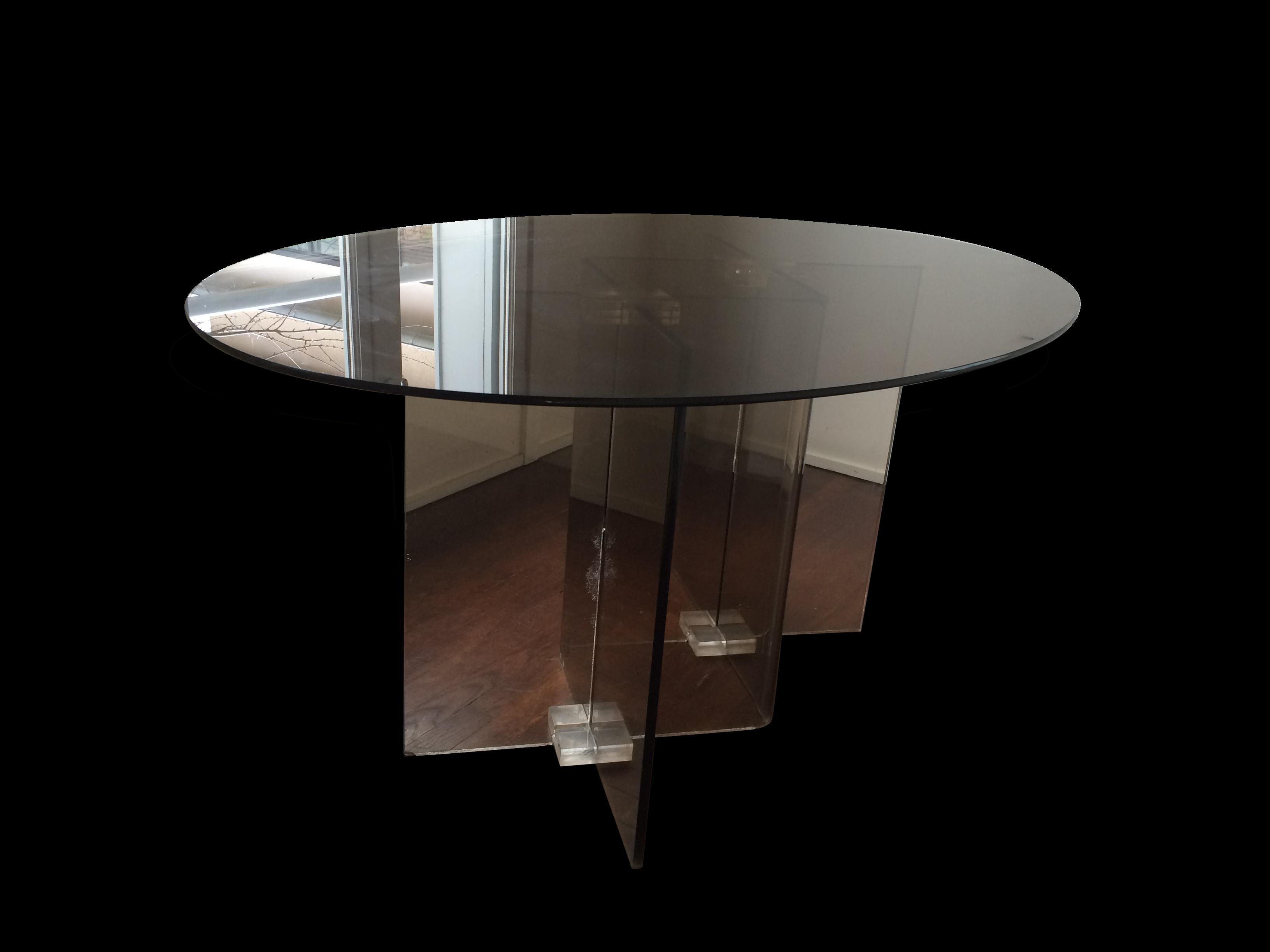 table ronde roche bobois table repas roche bobois gamme tnr with table ronde roche bobois. Black Bedroom Furniture Sets. Home Design Ideas