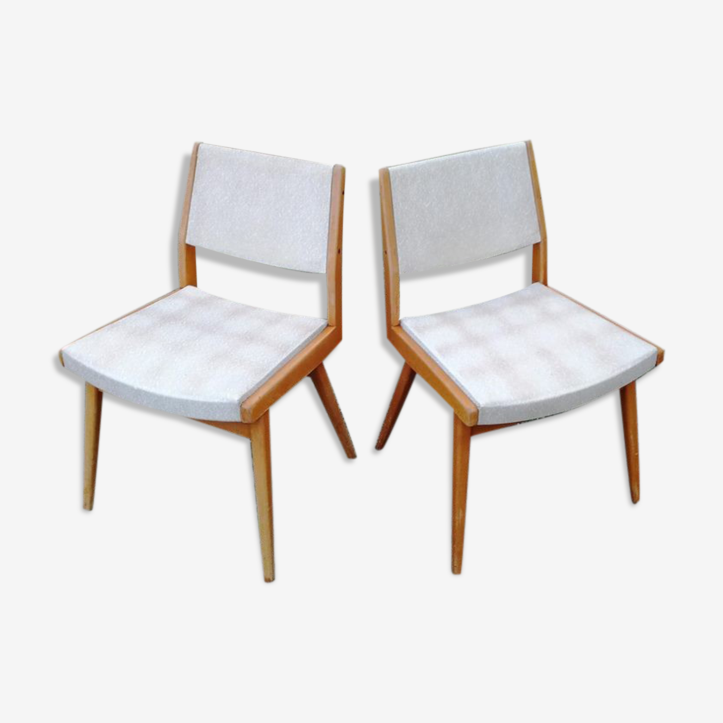 Duo de chaises style scandinave