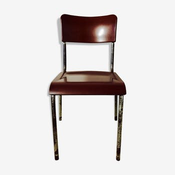 Chaise bakélite années 40