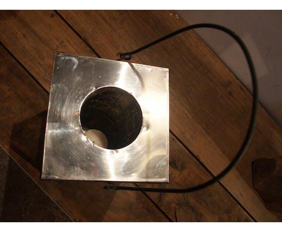 Lanterne photophore en métal