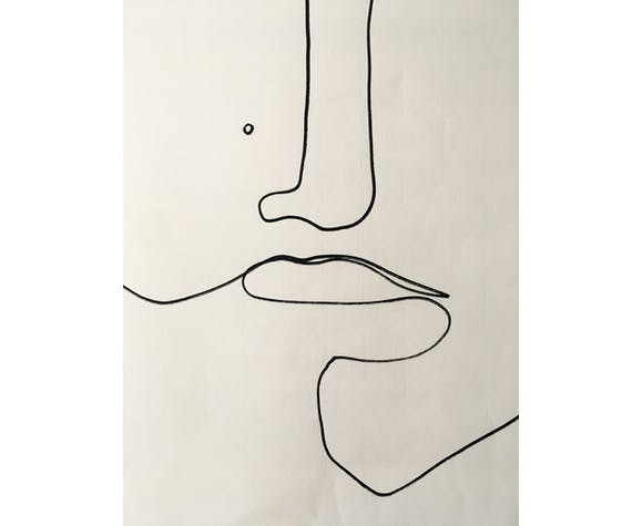Sketch #3 50x70cm