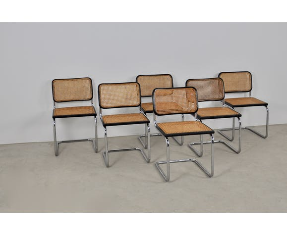 Chaises B32 de Marcel Breuer