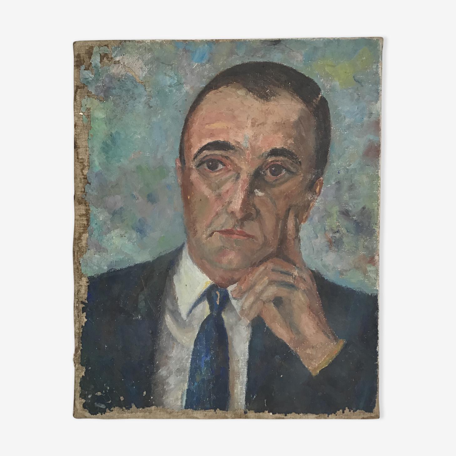 Tableau portrait d'homme