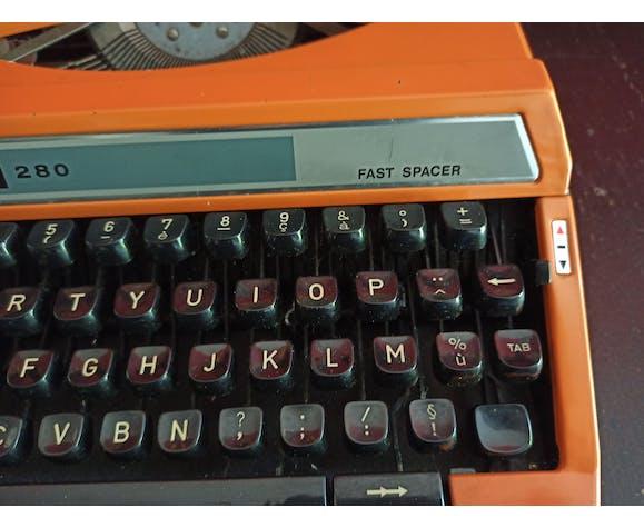 Machin à écrire vintage silver reed 280 Fast spacer