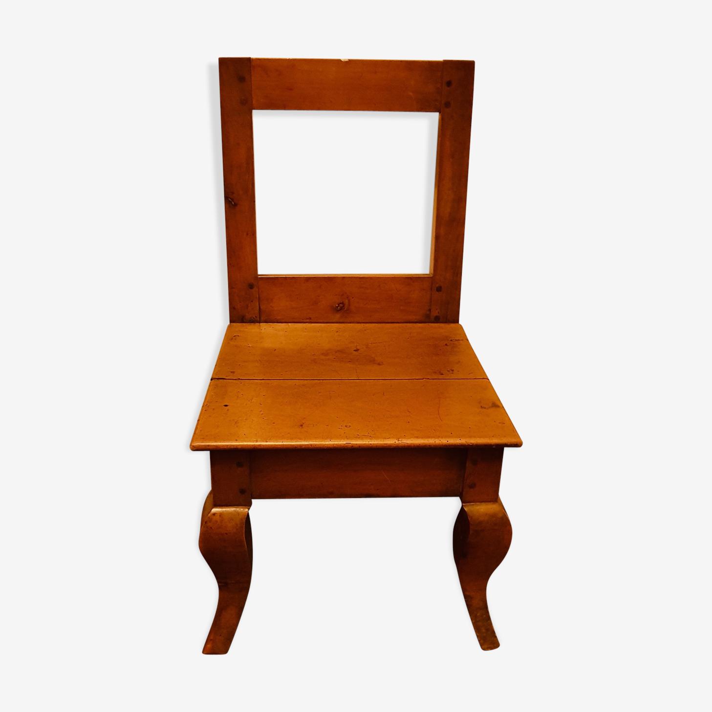 Chaise enfant lorraine ancienne