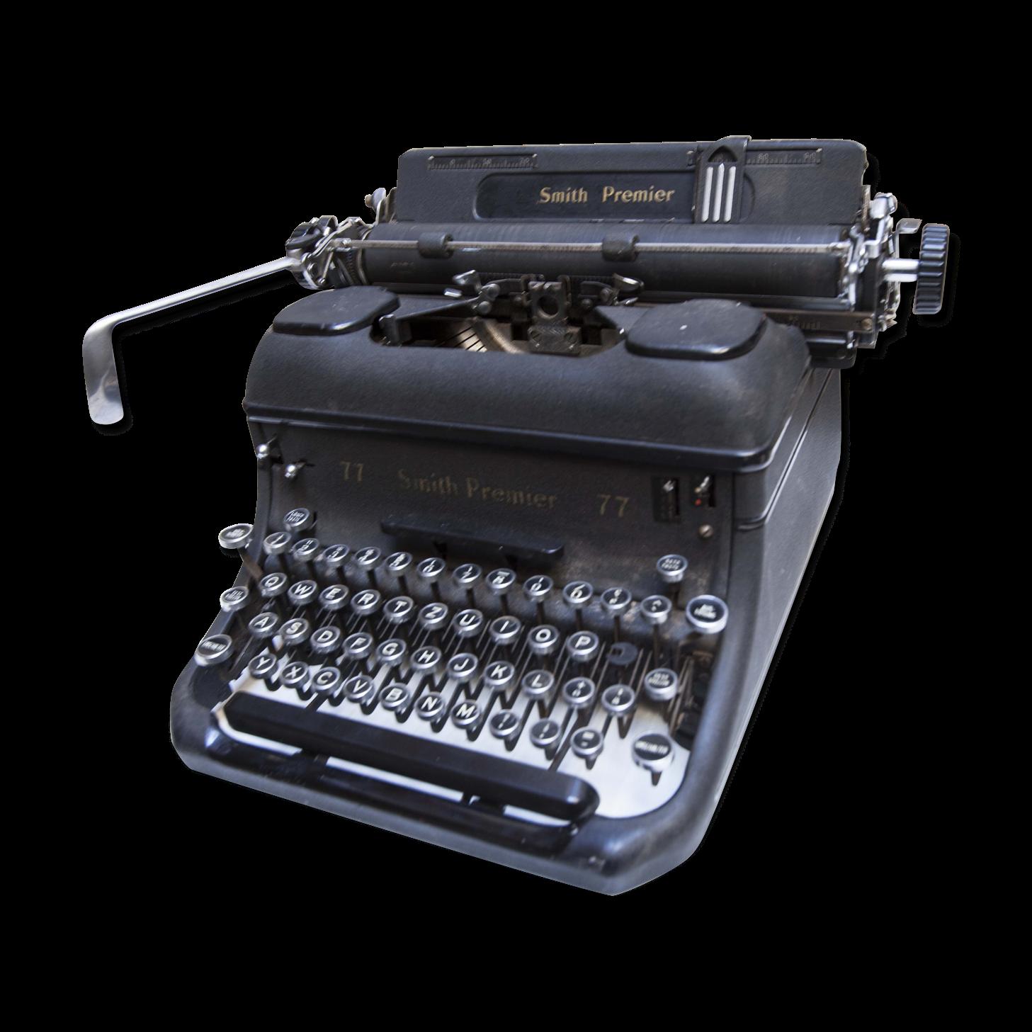 Machine a écrire Smith Premier 77