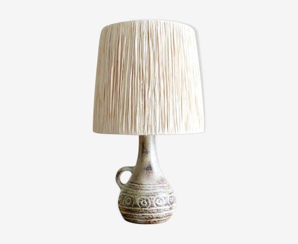 Olivier Pettit, Vallauris, 60s ceramic lamp
