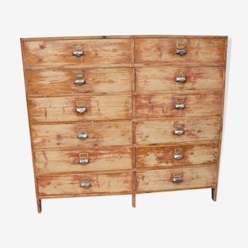 Furniture craft 12 drawers